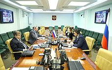 В.Джабаров иГ.Карасин выступили входе заседания Общего комитета пополитическим вопросам ибезопасности ПА ОБСЕ