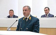 Сенаторы приняли Постановление палаты опротиводействии незаконной вырубке древесины