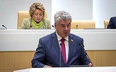 Избран первый заместитель председателя Комитета СФ пообороне ибезопасности