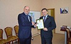 А.Дмитриенко награждён памятным знаком «Зазаслуги вразвитии города Пензы»