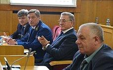 Сергей Лукин: «Консолидированные усилия региональных властей способствуют выполнению всех основных задач, обозначенных Президентом РФ»