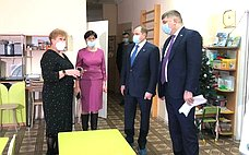Д. Василенко: Вновой школе Шлиссельбурга для ребят созданы все условия