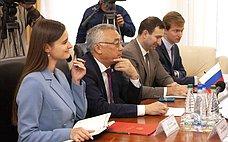 Б.Жамсуев посетил срабочим визитом Республику Молдова