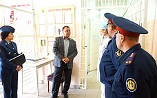 А. Суворов посетил срабочим визитом ФКУ ИК-2 УФСИН России поАмурской области ипровел личный прием осужденных