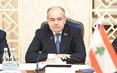 И.Умаханов: ВСовете Федерации заинтересованы вразвитии российско-ливанских отношений