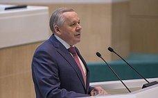 В. Шуба выступил перед Законодательным Собранием Иркутской области сотчетом освоей деятельности за2017год