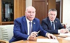 Врамках поездки вСахалинскую область Д.Мезенцев встретился сдепутатами регионального парламента