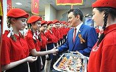 Ирек Ялалов поздравил учащихся уфимской школы №114 свступлением в«Юнармию»
