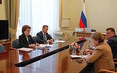 Г. Карелова встретилась сдепутатом Парламента Республики Молдова З.Гречаный