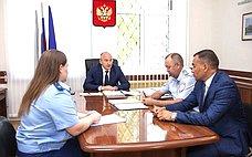 О. Цепкин обсудил вопросы благоустройства территорий вЧелябинской области