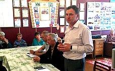 В.Новожилов обсудил вАрхангельской области вопросы местного самоуправления иреализации национальных проектов