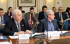 С. Кисляк иА. Климов провели встречу сколлегами изЕвропейского совета помеждународным делам