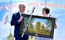 Н.Петрушкин принял участие впраздновании 89-й годовщины содня образования Атяшевского района Республики Мордовия