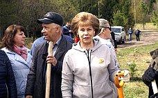 Т. Гигель: Всероссийский день посадки леса помогает обратить внимание общественности наважность экологического воспитания