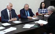 Н.Тихомиров: Необходимо оперативно решать текущие проблемы граждан