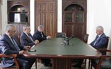 Делегация Комитета СФ пообороне ибезопасности совершила визит вРеспублику Абхазия