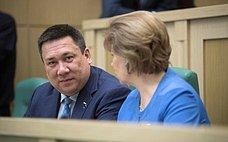 Сенатор В. Полетаев обсудит сМинистром энергетики РФ тарифы наэлектроэнергию вРеспублике Алтай