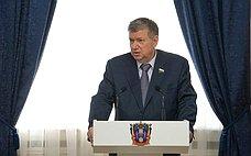 Е.Бушмин принял участие взаседании Законодательного Собрания Ростовской области