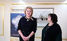 Л. Гумерова открыла выставку социально-правового плаката «ВЕКТОР ПРАВА»