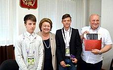 З.Драгункина провела вЗеленограде встречу спредставителями общественности