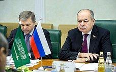 Заместитель Председателя СФ И.Умаханов провел встречу сПослом Саудовской Аравии вРоссии