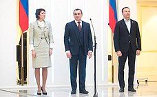 Н. Федоров вручил паспорта юным гражданам России