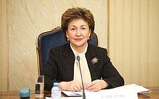 Г. Карелова: Совет Федерации примет самое активное участие вреализации проекта «санитарного щита» вРоссии