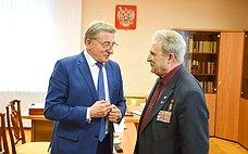 С. Лукин: Мы обязаны заботиться осемьях воинов, погибших в«горячих точках»