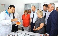 Л.Антонова посетила образовательные, культурные инаучные учреждения Раменского района Подмосковья