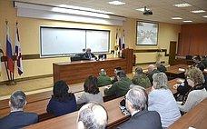 М. Козлов посетил военную академию РХБЗ