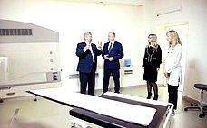 О. Цепкин посетил Челябинский областной клинический центр онкологии иядерной медицины
