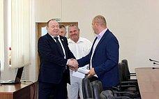 В. Лаптев принял участие взаседании сессии Совета депутатов Куйбышевского района Новосибирской области