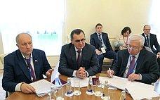 Н. Федоров врамках 137-й Ассамблеи МПС провел встречи сглавами национальных делегаций Судана иМексики