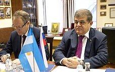 Российские парламентарии окажут всемерное содействие впродвижении российско-аргентинских отношений— В.Джабаров