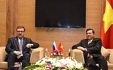 Россия иВьетнам выведут межпарламентское сотрудничество нановый уровень— К.Косачев