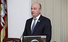 О. Цепкин принял участие втелеконференции повопросу благоустройства городов Челябинской области