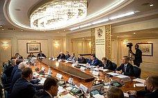 ВСовете Федерации состоялась встреча Председателя Правительства Российской Федерации счленами Совета палаты