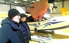 А.Ермаков посетил срабочим визитом Ямало-Ненецкий автономный округ