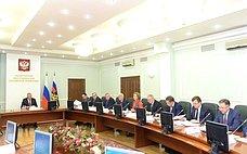 Н.Федоров принял участие взаседании Государственного антинаркотического комитета