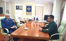 Э. Исаков обсудил спрокурором Югры осуществление надзора заисполнением федерального законодательства