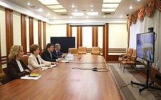 Сенаторы приняли участие всовещании опроекте Единого плана подостижению национальных целей развития Российской Федерации