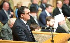 Н.Федоров принял участие вработе XXI Всемирного русского народного собора