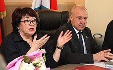 Л.Талабаева выступила назаседании Думы Уссурийского городского округа