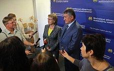 Ю. Воробьев: НаV Форуме регионов Беларуси иРоссии ожидается представительная делегация субъектов РФ
