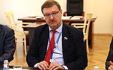 К. Косачев встретился свице-спикером Парламента Бангладеш М. Фазлом Рабби Мия