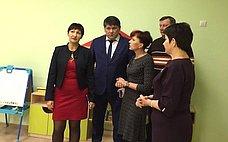Т.Кусайко осмотрела новый детский сад вгороде Гаджиево Мурманской области