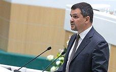 М. Акимов представил сенаторам доклад омерах пореализации программы «Цифровая экономика Российской Федерации»