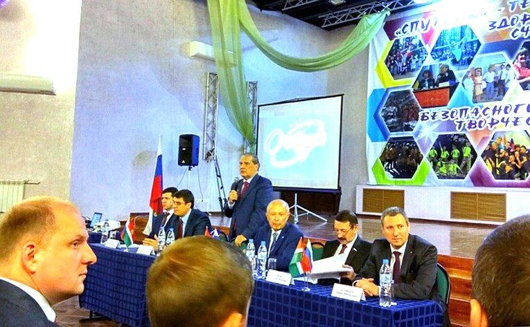 А. Александров принял участие впятом образовательном форуме «Молодая политика»
