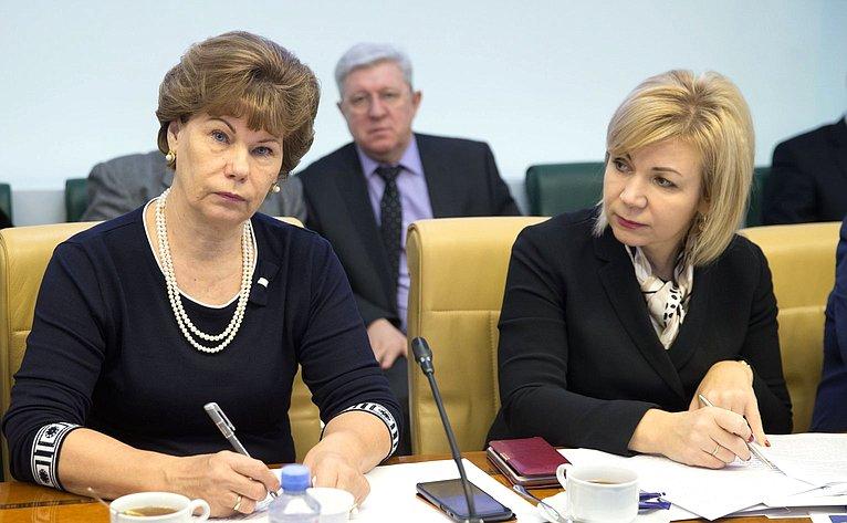 «Круглый стол» Комитета СФ поаграрно-продовольственной политике иприродопользованию осотрудничестве сТаджикистаном ваграрной сфере