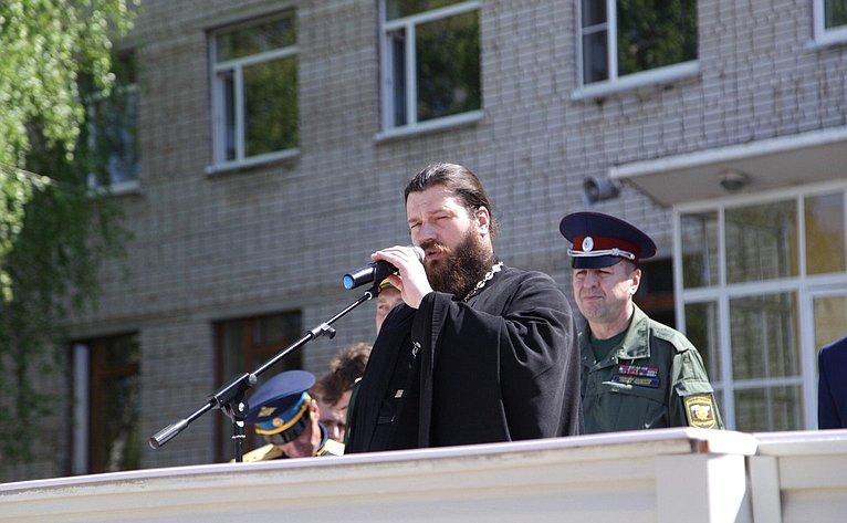 Областной парад-смотр Юнармии посвящен 115-летию содня рождения Маршала Советского Союза С.С. Бирюзова